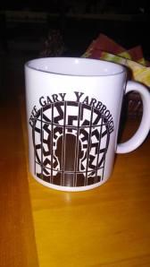 Free Gary coffee mug